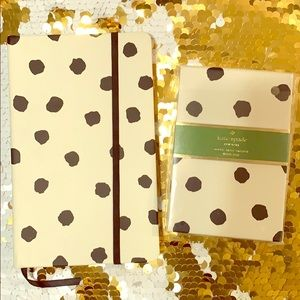 Kate spade notebook and loose paper holder